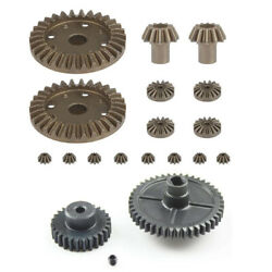 20xfor Wltoys 144001 1/14 Rc Car Spare Parts Upgrade Metal Motor Reduction