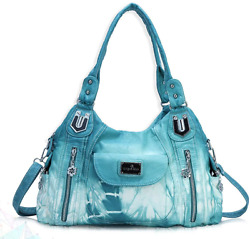 Handbag Hobo Women Handbag Roomy Multiple Pockets Street Ladies#x27; Shoulder Bag Fa $51.99