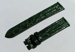 Maurice Lacroix Band 19mm Green Croco Strap 19/16 80/115 Nos I555