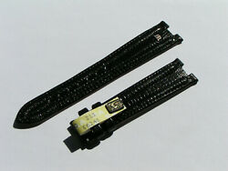 Maurice Lacroix Band 19mm Black Croco Strap 19/16 80/115 Nos I559