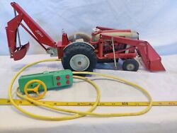 Rare Vintage Ford 1841 Industrial Remote Control Tractor By Craigston W/box Nice