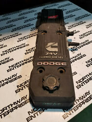 Dodge Ram 5.9l Cummins Used Valve Cover Assembly 2005-07 4931453 4931454 Re0562