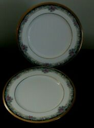 2 Two Noritake Mi Amor Bread And Butter Plates 4717 Unused One With Label
