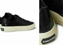 Tom Ford Cambridge Lizard Eidechse Sneakers Shoes Trainers 41