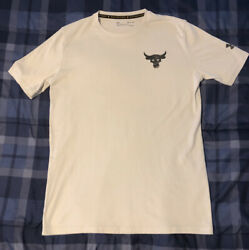 Mens Under Armour Project Rock Graphic T Shirt Size S $15.00