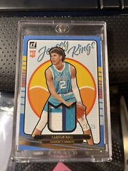 2020-21 Quad-color Lamelo Ball Jersey Kings Relic Rookie Gold 25/25 Ebay 1/1