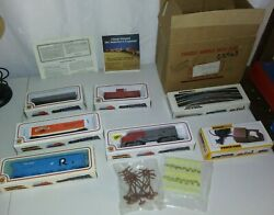 Bachmann Smuckers Train Set - Vintage New In Box - Complete Ho