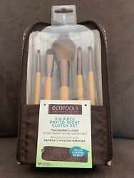 Ecotools 6 Piece Day to Night amp; Clutch Collection of Bamboo Makeup Brushes #1272 $9.99