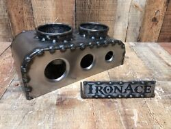 Iron Ace Shorty Bomber Hot Rod Rat Rod Seats Center Console Cup Holder