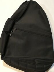 NORM THOMPSON Convertible Sling Backpack Purse Travel Bag Black Convertible $31.44