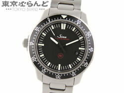 Sinn Ezm3 703.ezm-3f 80000a/m Menand039s Automatic Watch Used Excellent