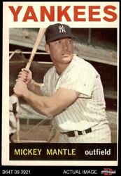 1964 Topps 50 Mickey Mantle Yankees 4 - Vg/ex