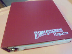 Vintage Lot Of 12 Farm Collector Magazines In Binder 2003 Complete Year