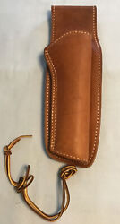 Vintage Hunter 13 Rh Brown Leather Holster Fits .22 Cal Revolvers 5 1/2andrdquo-6 1/2andrdquo