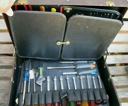 Xcelite/ Jensen Electrical Technician Tool Case With Tools
