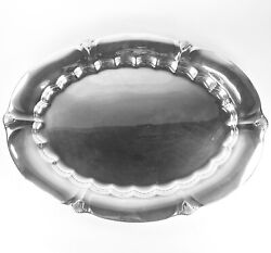C. 1940 Gorham Sterling Late Georgian Pattern 18 Tray 40+ Troy Ounces