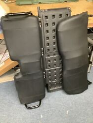 John Deere Gator Black Rear Bench Seat With Cargo Rack Divider Great Condition