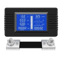 30xdc Multifunction Battery Monitor Meter Lcd Display Digital Current Voltage