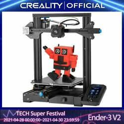 Creality 3d Ender-3 V2 Mainboard With Silent Tmc2208 Stepper Drivers New Uiand4.3