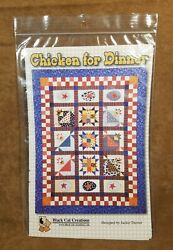 Quilt Pattern – Chicken for Dinner by Black Cat Creations