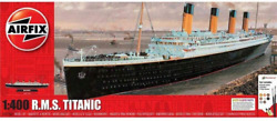 Airfix Rms Titanic 1400 Passenger Ship Plastic Model Gift Set With Paint And