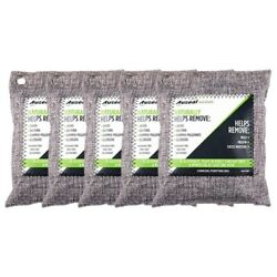 30x5 Packs Charcoal Odor Eliminator Bags Activated Bamboo Charcoal Deodorizer