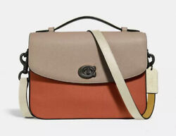 🌹coach Cassie Pewter/ginger Multi Crossbody In Colorblock Hans Bag Brand New🌹