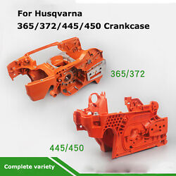 Logging Chain Saw Crankcase Assembly Engine Parts For Husqvarna 365 372 445 450