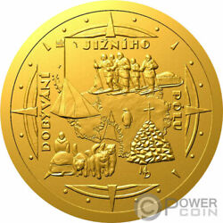 Conquest Of The South Pole Polar Explorers Gold Coin 10 Niue 2021