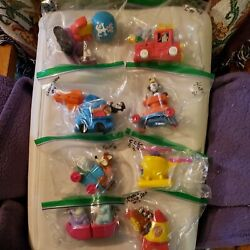 Animaniacs-1994 Mcdonalds Happy Meal Complete Set Of 8, Opened