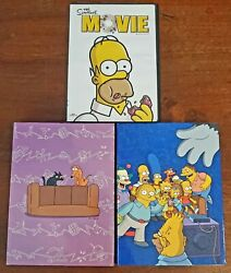 The Simpsons Complete Third And Fourth Season Dvd Sets Plus The Simpsons Movie