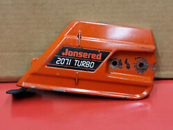 Jonsered 2071 Vintage Collector Chainsaw Clutch Cover Bar Cover Rare Ws 3 C7