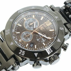 Guess Collection Gc-1 X90009g5s Quartz Menand039s Watch Black Dial Chronograph Unused