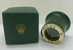 Rolex Loupe Magnifying Glass Tenfold Lens H1.3 Diameter1.4 W/box