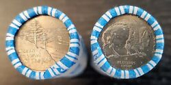 2005 P Westward Journey Jefferson Nickels 1 Ocean And 1 Bison Dunbar Wrapped