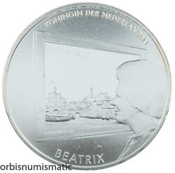 2011 Netherlands 5 Euro Painting/ Schilderkunst Silver Plated Proof Coin Z753