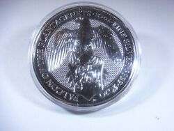 The Queen's Beasts 2020 Falcon Of The Plantagenets Silver 10 Oz. Bm-04