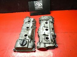 97-01 Camry Engine Motor Cylinder Head Valve Cover Top Left And Right 3.0l1mz-fe