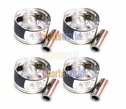 Genuine Piston And Pin And Snap Ring Assy 234104a950 X 4pieces For Grand Starex 07