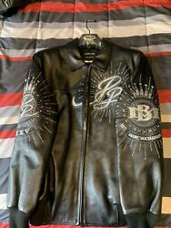 Pelle Pelle Leather Jacket 35th Anniversary Edition Size 48