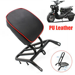 Universal Motorcycle Electric Bikes Refitted Backrest Rear Shelf Luggage Rack