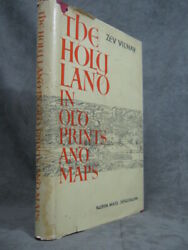 Zev Vilnay / Holy Land In Old Prints And Maps Second Edition Enlarged -- Signed