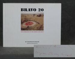 Richard Misrach / Bravo 20 The Bombing Of The American West Signed 1st Ed 1990