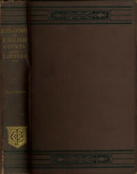 John Cordy Jeaffreson / Pleasantries Of English Courts And Lawyers Book 1st 1876