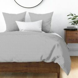 Crosshatch Aztec Tribal Native Sateen Duvet Cover By Roostery