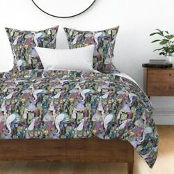 Library Books Nursery And Classroom Decor Sateen Duvet Cover By Roostery