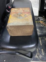 Vintage 2 Gallon Motor Oil Cans
