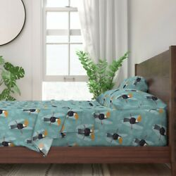 Toucans Rainforest Animals Tropical 100 Cotton Sateen Sheet Set By Roostery