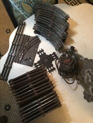 Lionel Prewar O Gauge Trail Track 134 Pieces Straight Curved And Trestles Ctc Lock