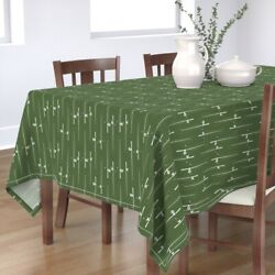 Tablecloth Fishing Poles Pole Woodland Camping Rods Reels Beach Cotton Sateen